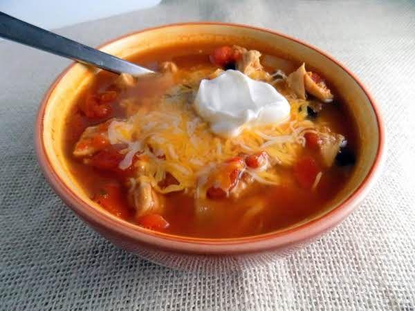 Easy Chicken Taco Soup Recipe