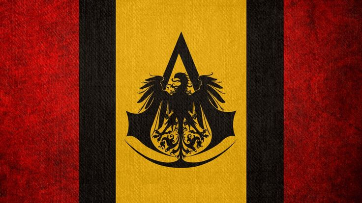 Assassin's Creed: Flag of the German Bureau by okiir on deviantART (This is my desktop background, I love it.)