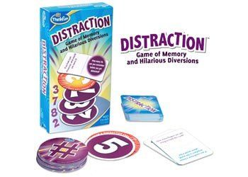 Hours of fun. Best family game. Game of Memory and Hilarious Diversions Strengthen your memory with this laugh-out-loud card game! Players take turns drawing number cards and remembering a growing sequence of digits. Draw a Distraction card and you must answer a quirky question before reciting the numbers in order! Quirky questions keep the whole family engaged for laugh out loud fun! Includes: #toys2learn #family fun #board game #CARDGAMES