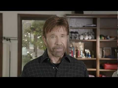Chuck Norris' dire warning for America - 2012, in the future dire warning for Mars 2082 from Chuck Norris clone #politics