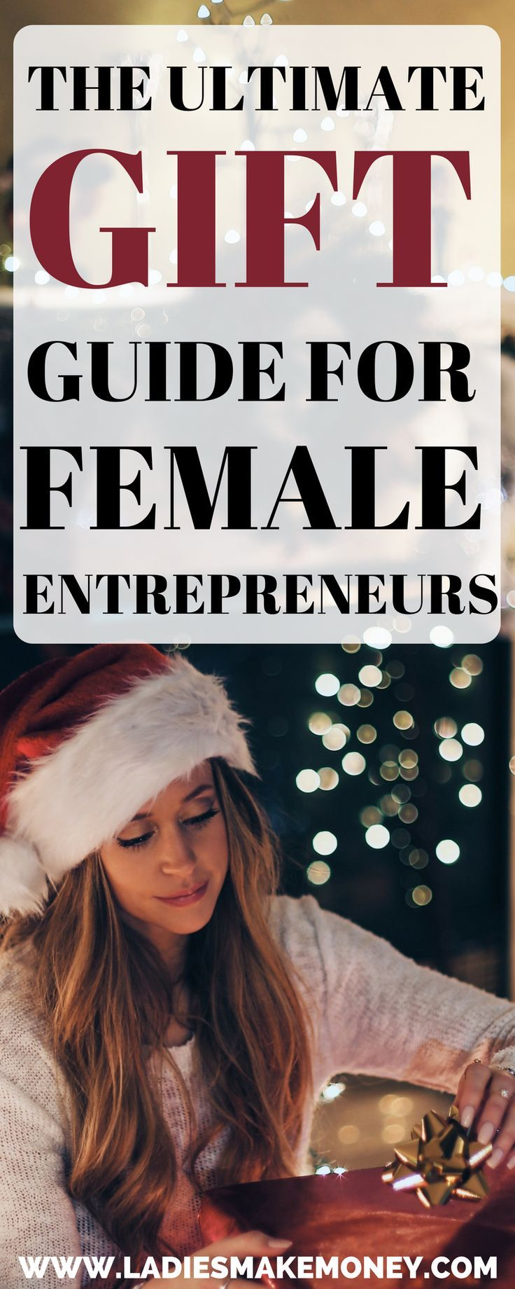 The perfect gift guide for you to get that boss babe. Are you Christmas shopping? If you want to get the perfect gift for her, take a look at this holiday gift guide we created. Christmas gift ideas diy full of ideas for Christmas gift Ideas. Christmas gi