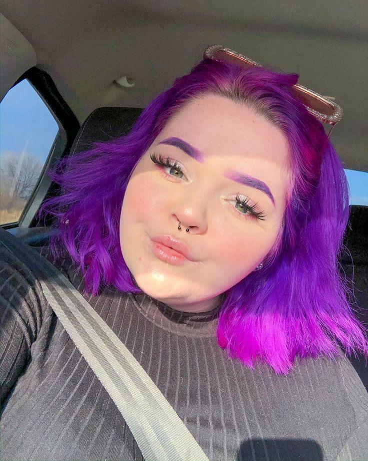 Arctic fox hair color emilyrussell purple rain