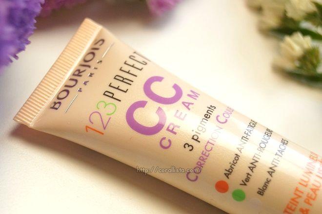 Bourjois 123 Perfect CC Cream  Review