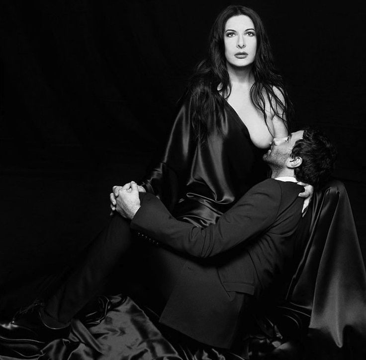 Marina Abramovic & Ricardo Tisci From Visionaire's issue ...