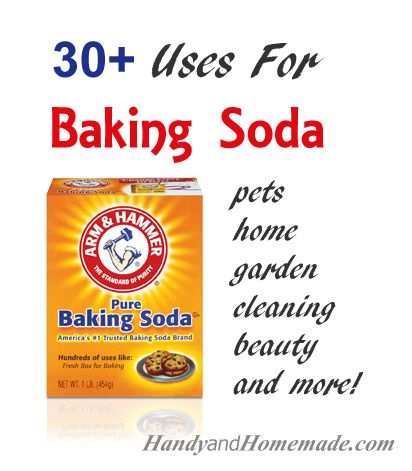 30 Amazing Uses For Baking Soda Cleaning, hair, skin and more