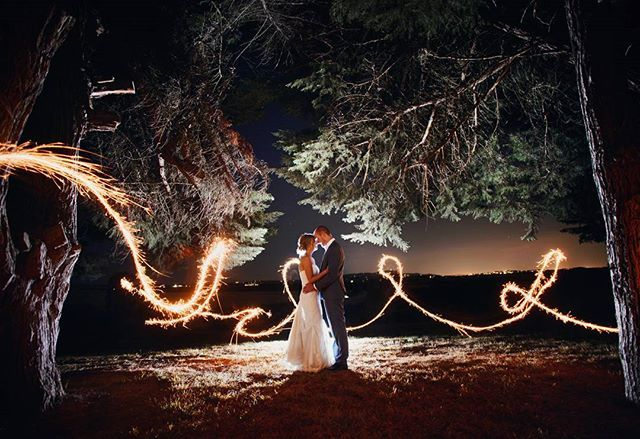 We love this incredibly magical moment shot by Robert Hock 💕 #zonzoestate Yarra Valley Weddings