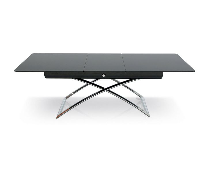 Calligaris Magic J A Versatile Coffee Table That Can Be Adjusted To 7 Different Heights And Extended To Be An 8 Person Dining Table