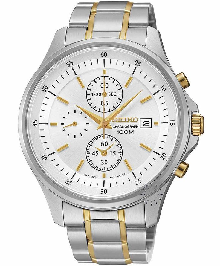 SEIKO Chronograph Stainless Steel Bracelet Η τιμή μας: 149€ http://www.oroloi.gr/product_info.php?products_id=34397