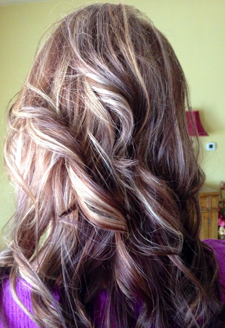 My Hair Highlights And Rockers On Pinterest Of Red Hair