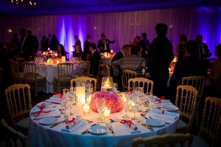 Wedding centerpiece! #pinkroses #centerpiece #weddingdecor #weddingflowers #weddingcrete