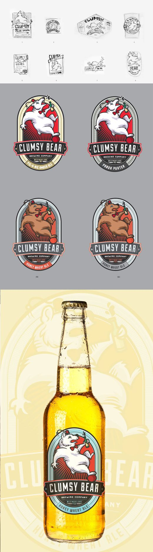 Homebrew Label Art – Turning Cheap Stickers into Masterpieces