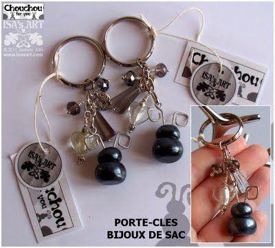 Chouchou Land: Premiers bijoux de sac/porte-clés