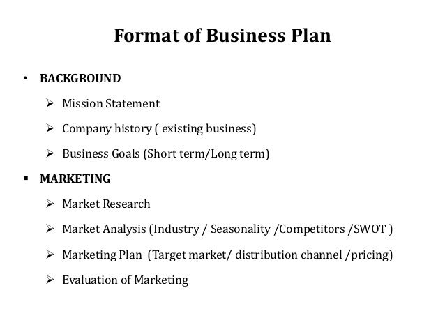 The  Best Small Business Plan Template Ideas On