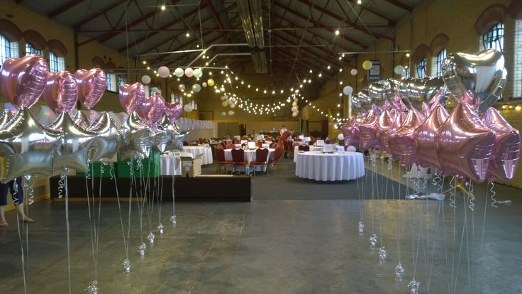 We delivered these amazing balloonson Saturday for a wedding to Kellham Island . The bride and groom were going to spread them around the venue.