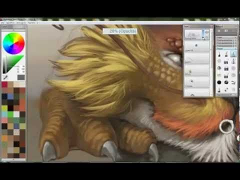 Digital Painting with SketchBook Pro by G. Di Girolamo - YouTube