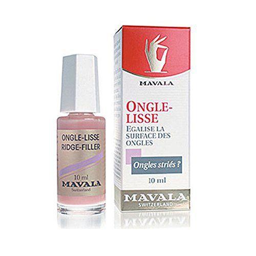Mavala Ongle lisse Égalise la surface des ongles 10ml: Mavala nagelglätter, remédie inégalités nageloberfläche. indique l'ongle lisse et…