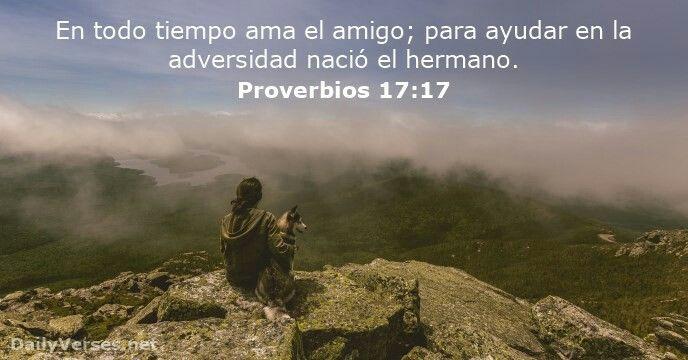 Proverbios 17:17