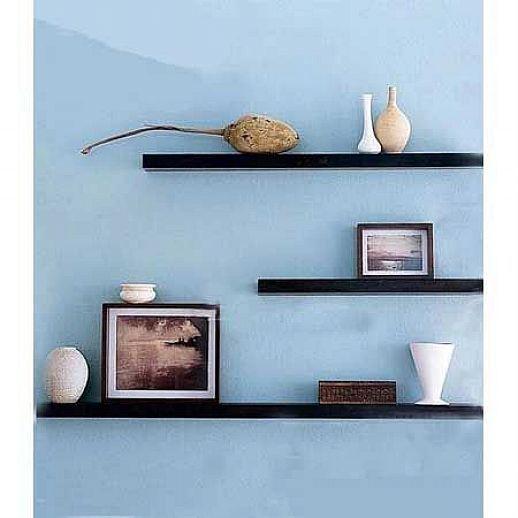 modern floating shelf ideas house pinterest