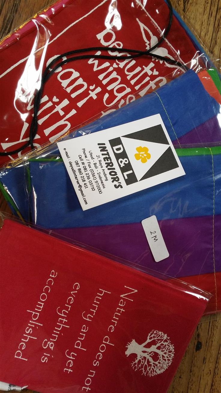 Flags - Tegallalang Shopping Strip