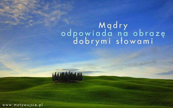 Dobre słowa… | www.MotywujSie.pl