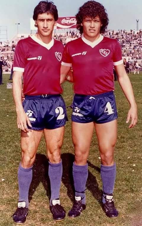 1983 Hugo Villaverde y Nestor Clausen - Independiente de Avellaneda
