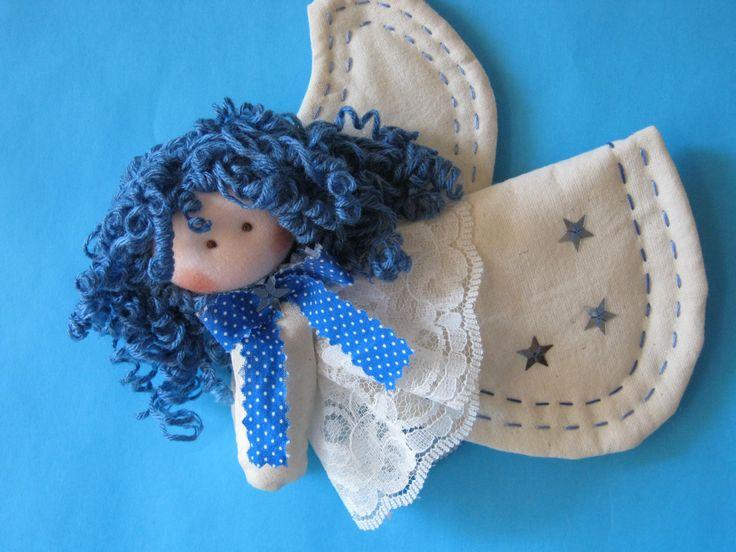 Angel azul