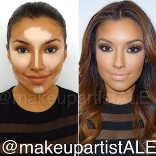 Great highlight and contour
