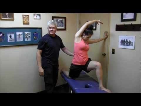 Once you watch this video you will be able to release entrapments of the Femoral Nerve, which is commonly associated with groin, thigh and leg pain.  This type of exercise (combined with other protocols) will help you to resolve even chronic problems that have not responded to conventional therapy.