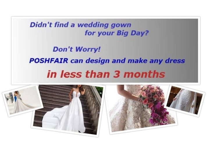 Custom Made Wedding Gown According to Your Ideas and Measurements by Poshfair on Etsy