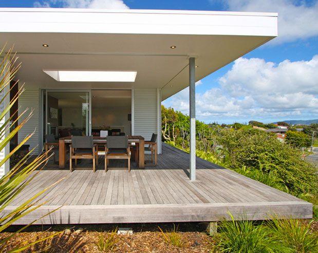 residential architecture waikanae beach house