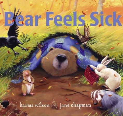 Autumn has come to the woods, and Bear doesn't feel well. He sniffles and sneezes. He cannot sleep. He aches all over. Worst of all, he's feeling too poorly to play with his friends.   How Bear's good friends take care of him with herbal tea and lullabies until he begins to FEEL BETTER