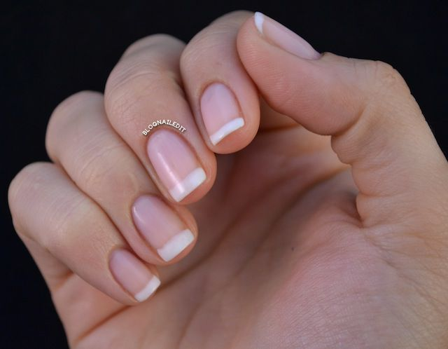 Palette-Cleansing Classic French Manicure (Perfect after a week of glitter!)