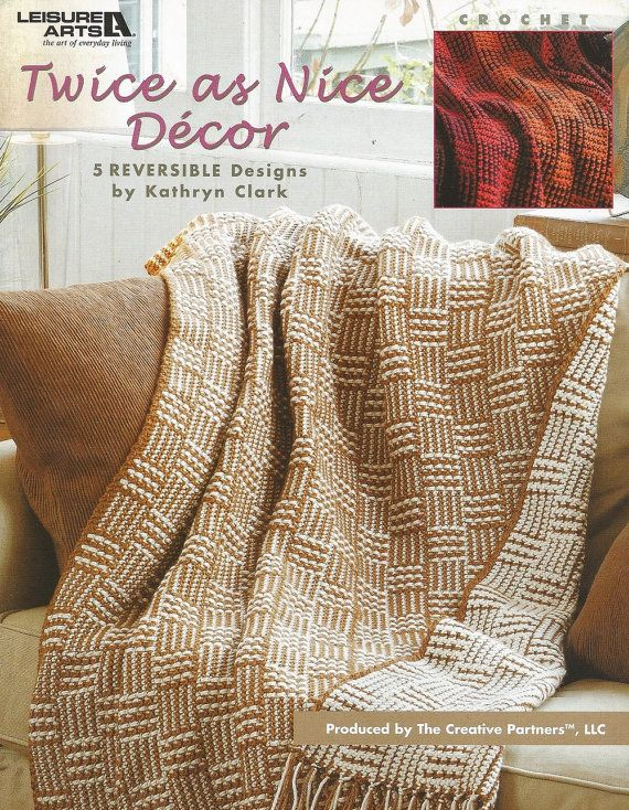 35 Best Crochet Reversible Afghans Images On Pinterest
