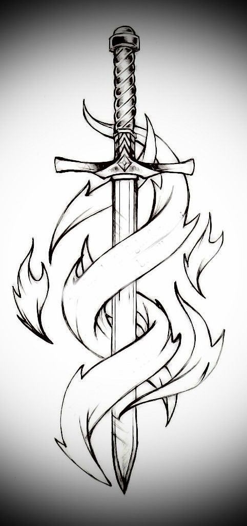 Sword and flames #1 – #flames #offen #Sword