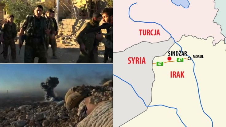 Kurdish troops have just taken Sinjar (13.11.2015)