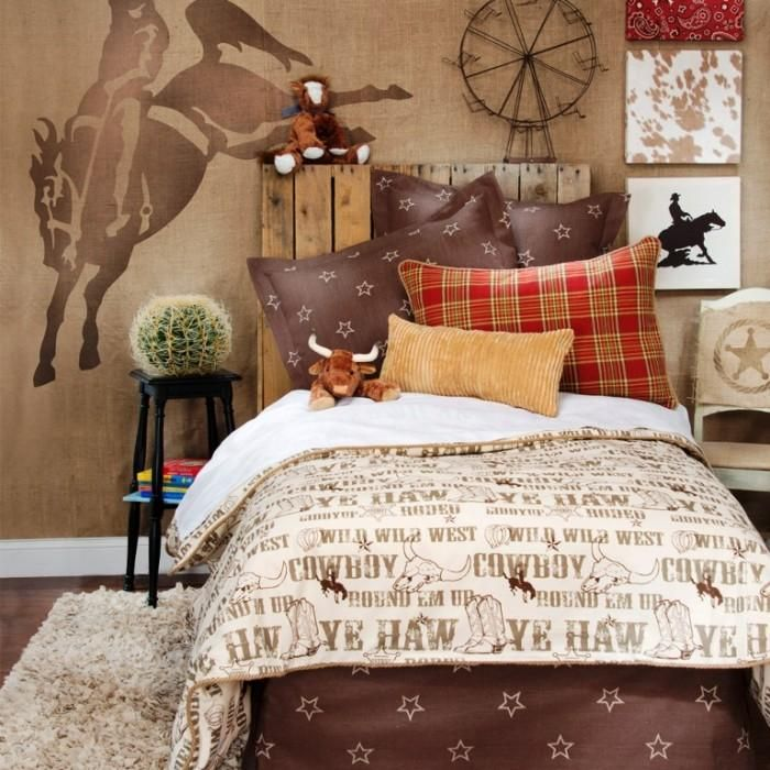 Horse Theme Bedroom Ideas: 24 Best WESTERN Decorating Images On Pinterest