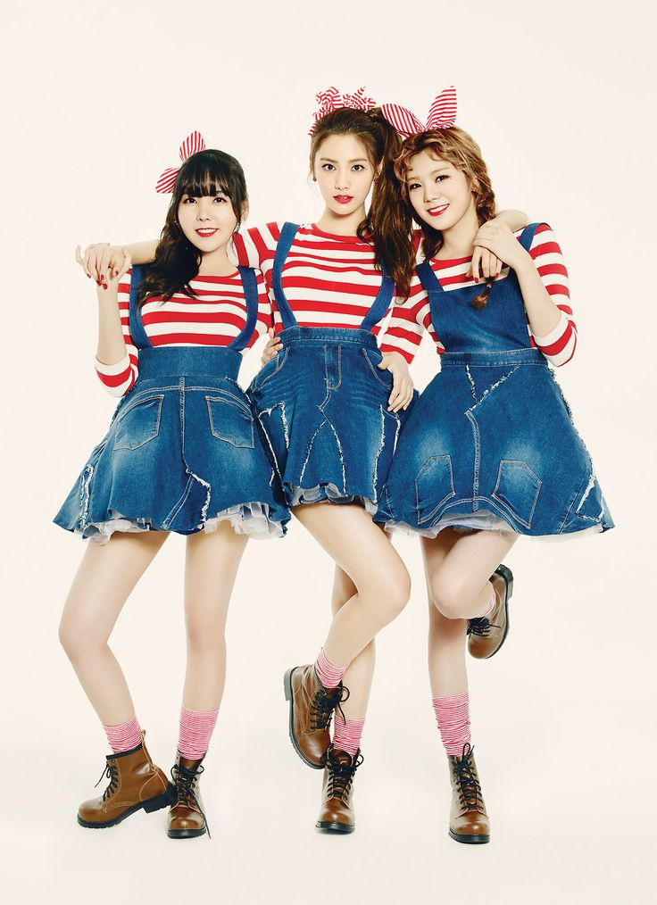 Orange Caramel | official concept photo for 나처럼 해봐요 (My Copycat) #Raina #Nana #Lizzy