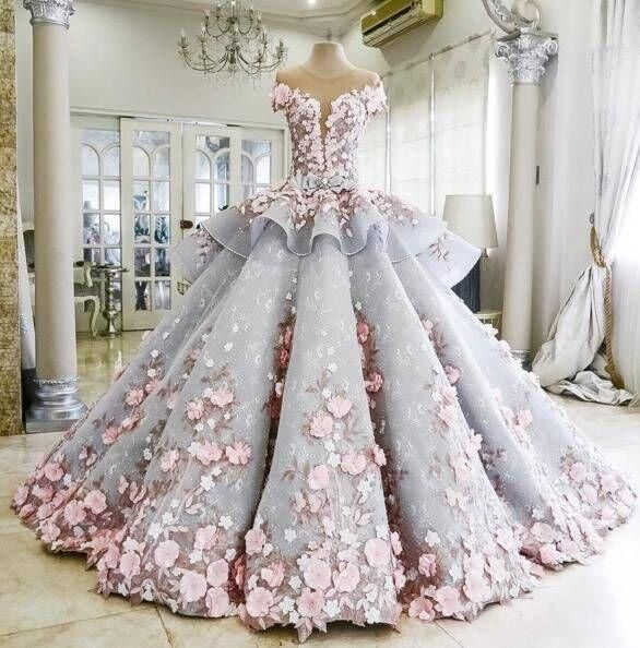 17 Best ideas about Latest Wedding Gowns on Pinterest   Mature ...