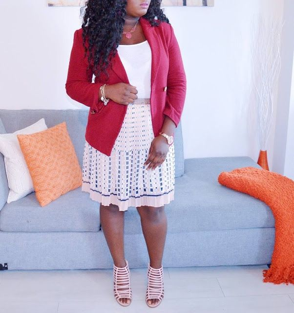 The AfroFusion Spot: Miss G: #OOTD Looks of the Week - Pretty in Pink, ootd, fashion, style, melanin, lookbook, blazer, pink, miss g