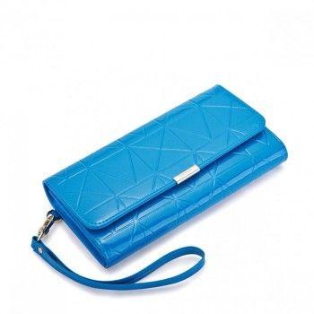 Długi portfel księżniczki Niebieski