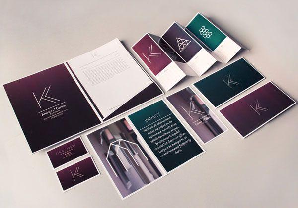nice leaflet design