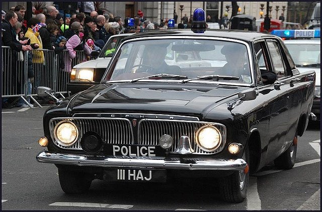 Ford Zephyr 6 Mark III   1960's police car