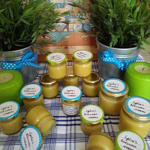 karamella: Lydia's beeswax creams & Giveaway