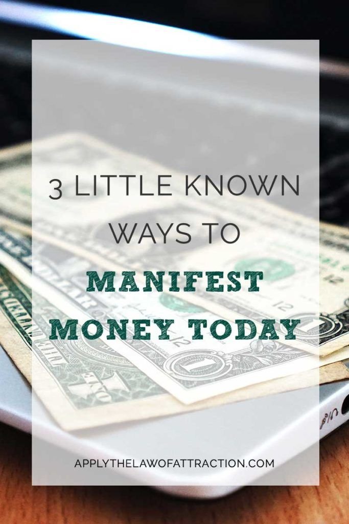 Need to manifest money today? Read these little known tips to help you start manifesting money, even if it's an emergency.