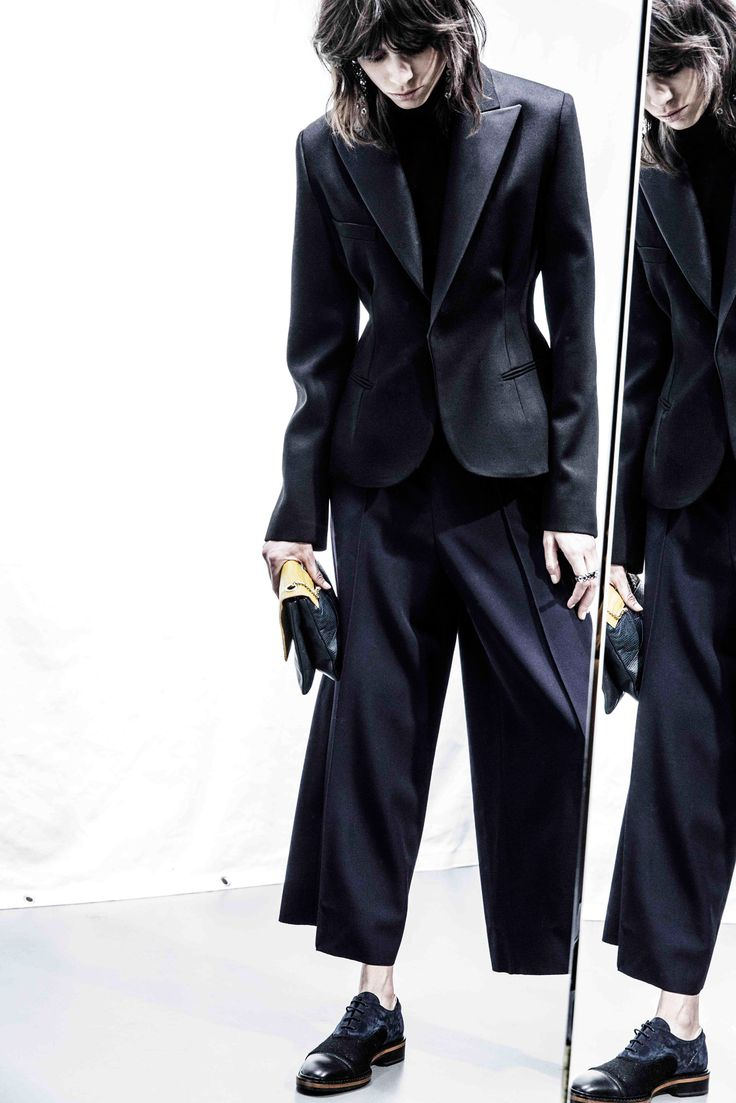 LOVE menswear & oxford shoes from spring and popping back up in fall.  Get a more neutral color and might be able to wear year round (depending on climate). Lanvin Pre-Fall 2015 - Collection - Gallery - Style.com