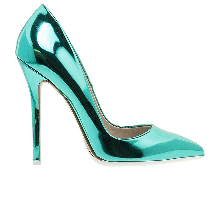 1203A00-GREEN SPECwww.mourtzi.com #pumps #heels #mourtzi #greekdesigners #metallics