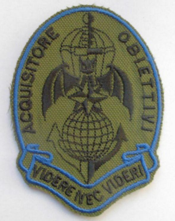 Toppa O Patch Paracadutisti Acquisitore Obiettivi - Modello Da Classificare