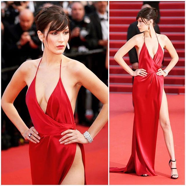C A N N E S : Day 7 _____________________________________________ Bella Hadid wearing Alexandre Vauthier  #TheModelDiet #TheMD #Fashion #CelebrityStyle #Celebrity #StreetStyle #Style #RedCarpet #Trend #OOTD #CannesFilmFestival #BellaHadid #AlexandreVauthier _____