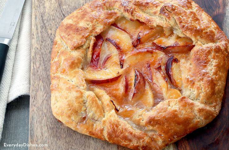 Our rustic peach tart recipe has the most amazing crust on the planet—and the filling isn't bad either!