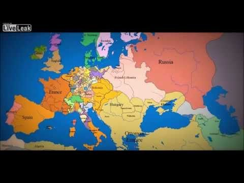 Map of Europe  1000 AD to present day Look   The Big Picture.mp4 from Li...